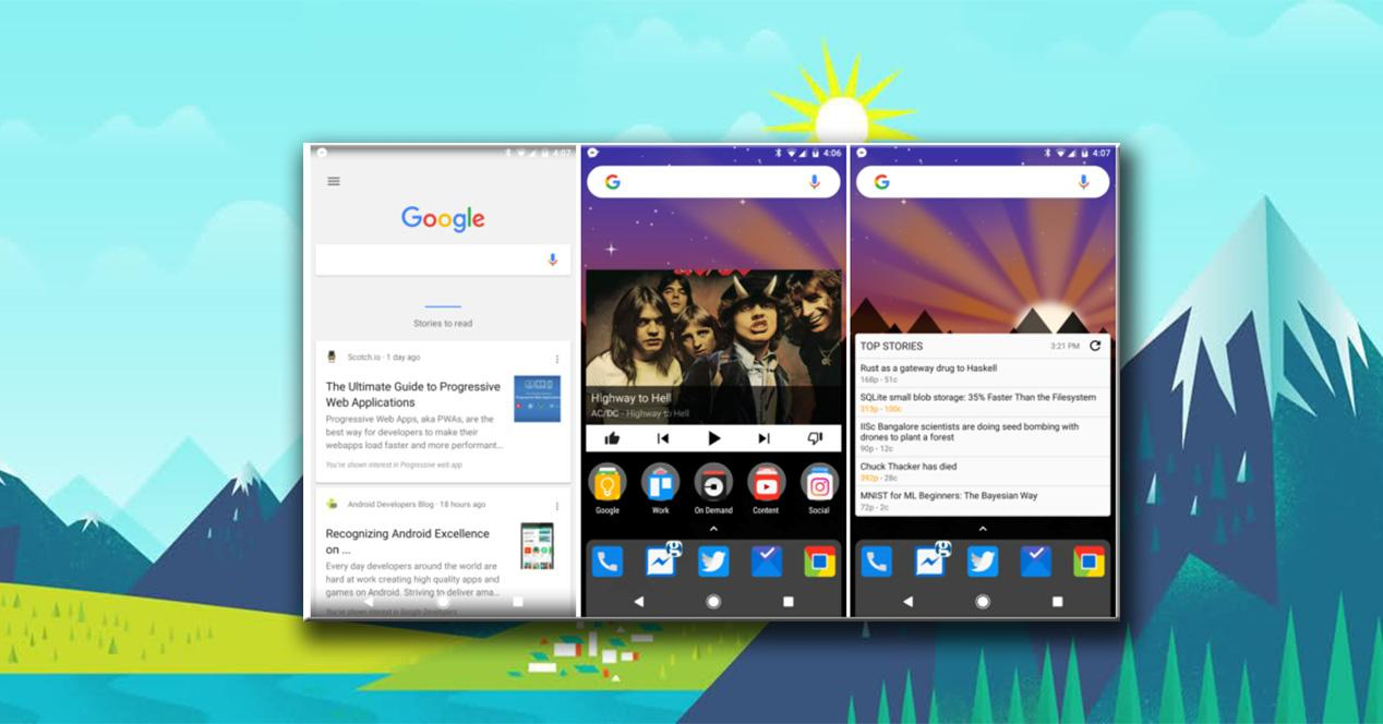 Integración de Google Now en Nova Launcher