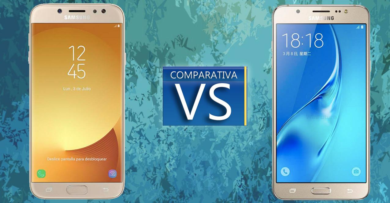 Samsung Galaxy J7 (2017) vs Samsung Galaxy J7 (2016)