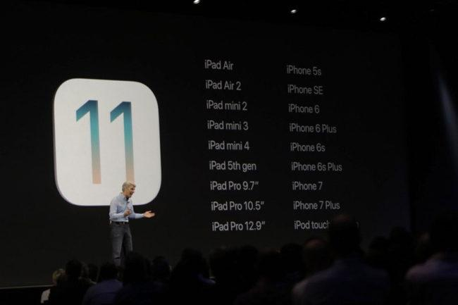 Lista de modelos de iPhone compatibles con iOS 11