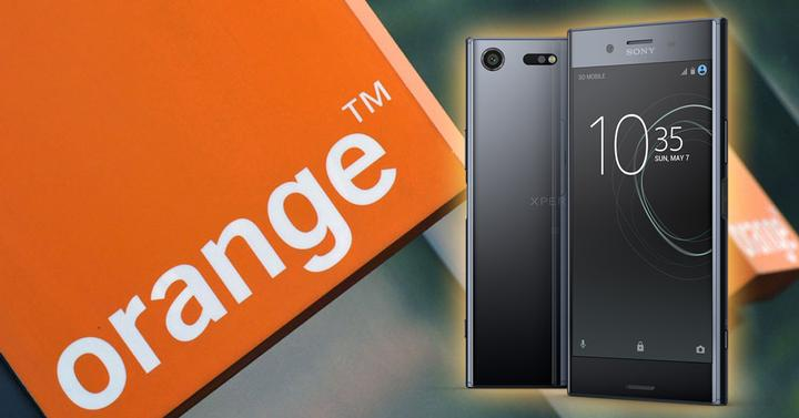 sony xperia xz premium orange