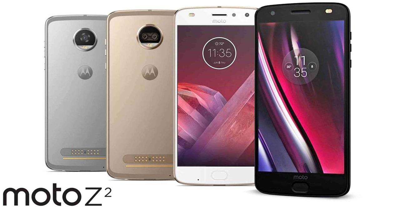 Colores disponibles del Moto Z2 Force Edition