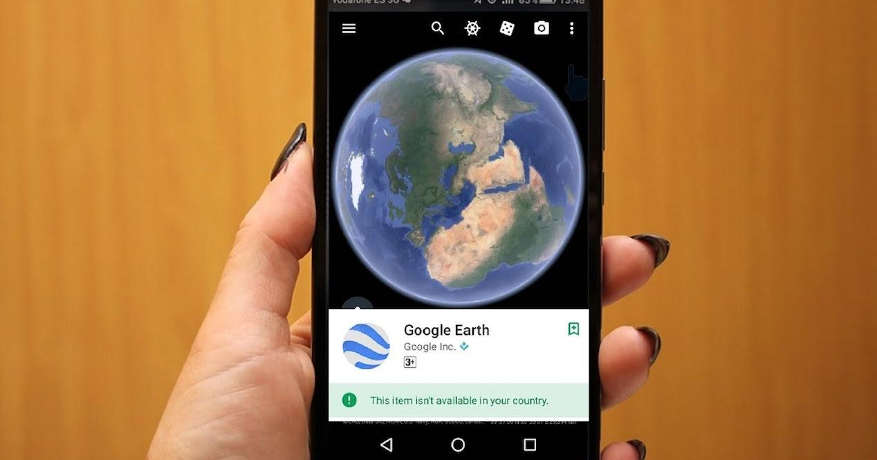 google earth en movil