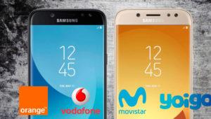 Precio del Samsung Galaxy J5 (2017) con Movistar, Orange, Yoigo y Vodafone