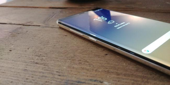 Samsung Galaxy Note 8 perfil