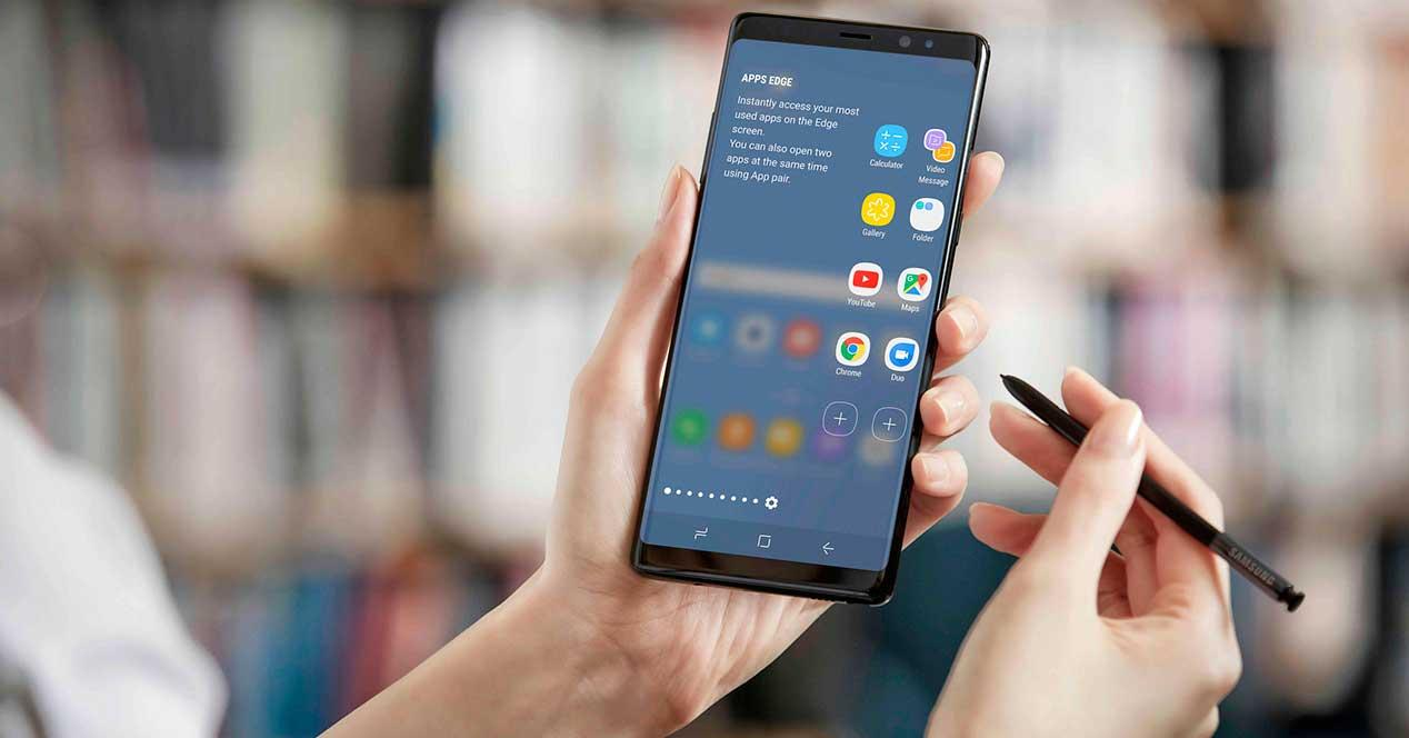 apps del Galaxy Note 8