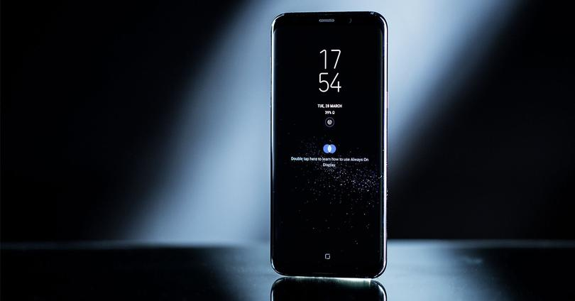 Samsung Galaxy S8 en color negro