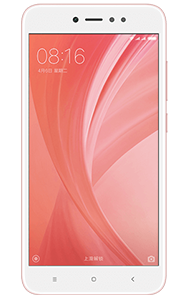 Frontal del Xiaomi Redmi Note 5A