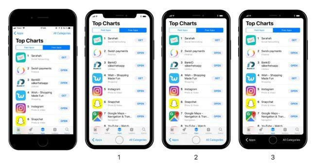 iOS 11 en el iPhone 8