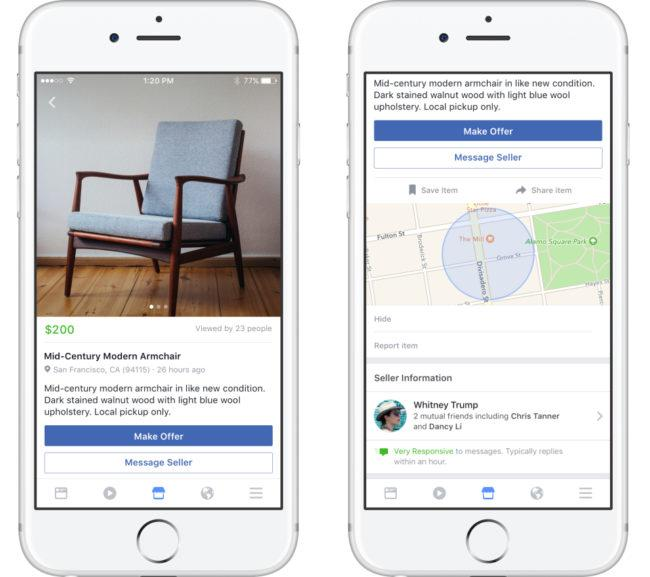 Diferencias entre Facebook MarketPlace y Wallapop
