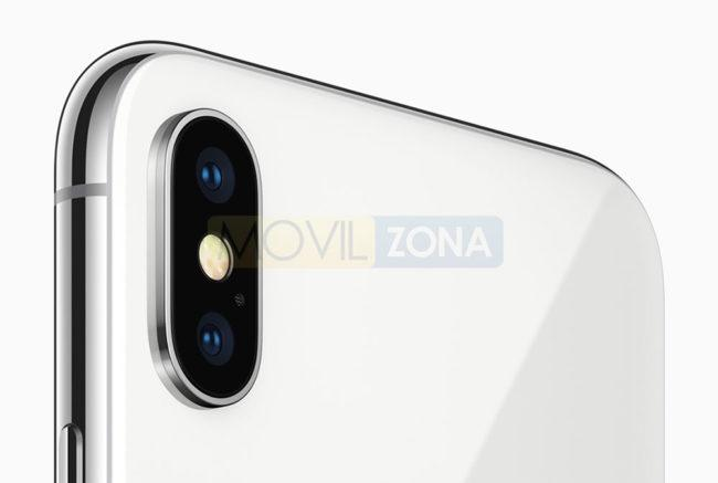 Apple iPhone X detalle de la cámara