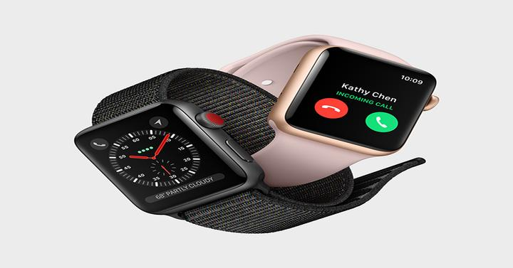 Diseño del Apple Watch Series 3