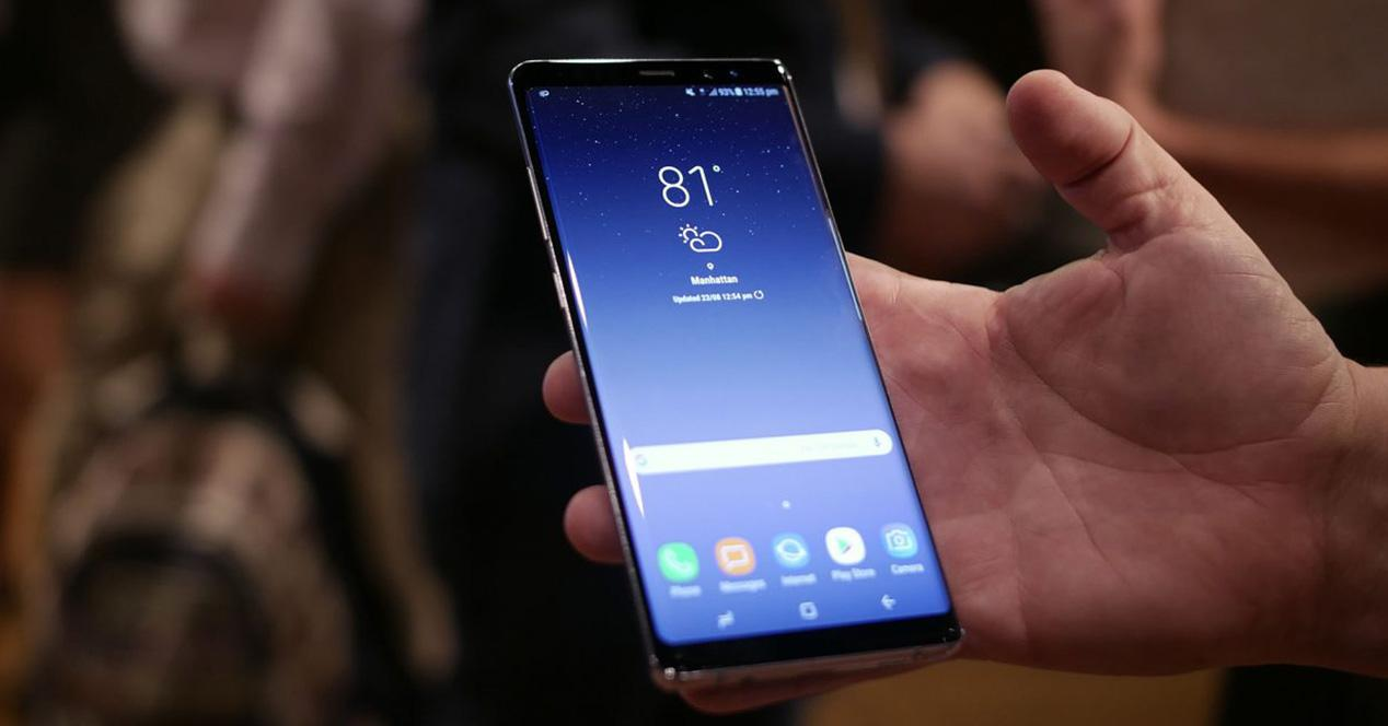 infinity Display del Galaxy S8