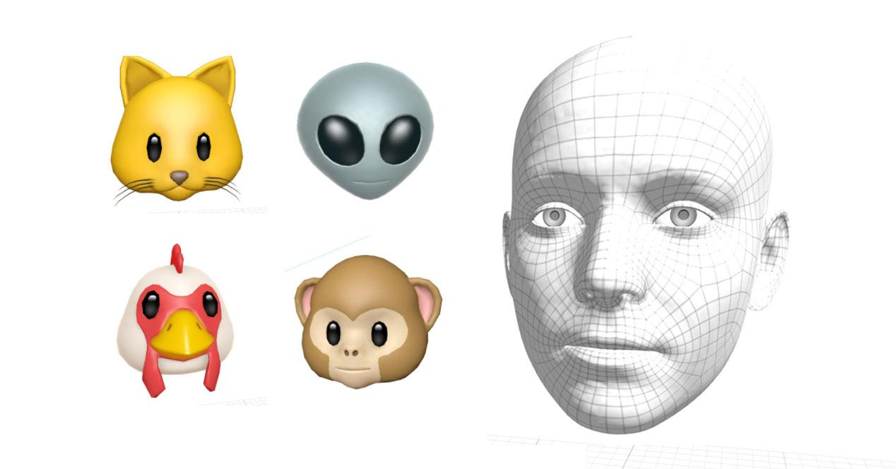 3D Animoji en el iPhone 8