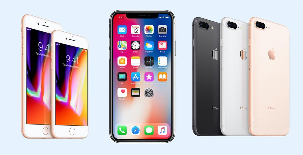iPhone 8 frente al iPhone X
