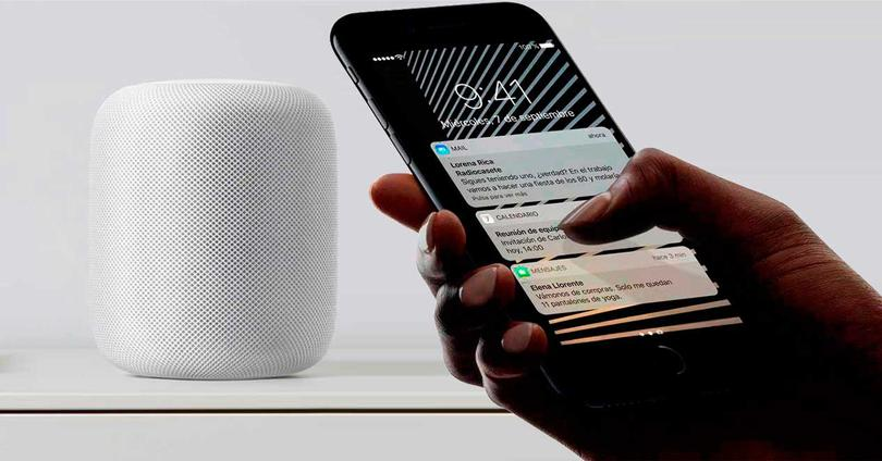 iPhone y HomePod