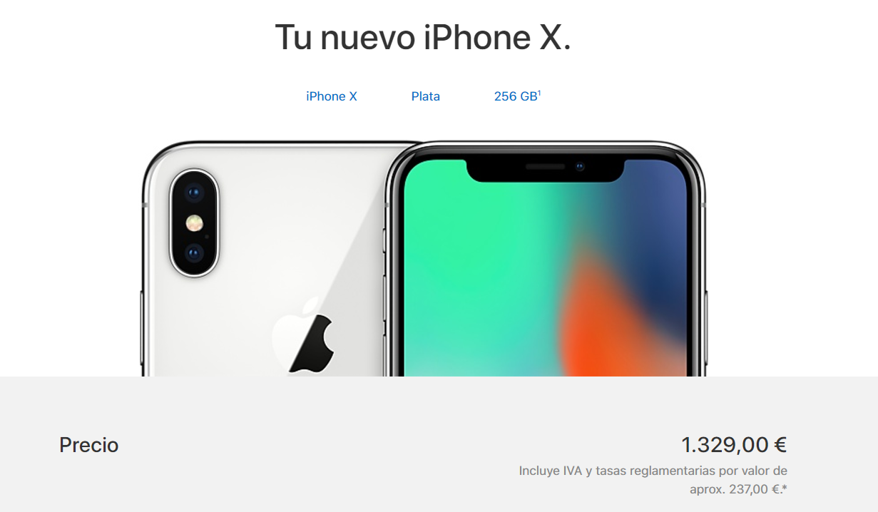 Diferenc8a precio apple en amazon