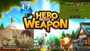 Hero Needs a Weapon: investiga, crea y vence con tu héroe