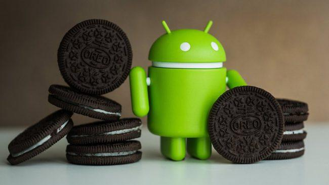 Android  Andy con galletas Oreo