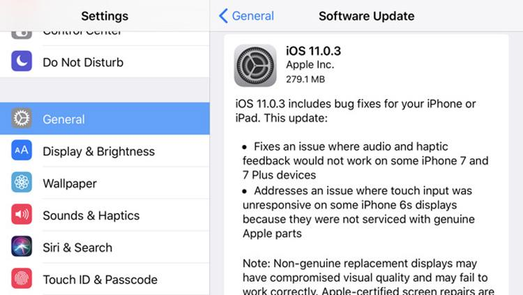 how to delete apps on ios 11.0.3