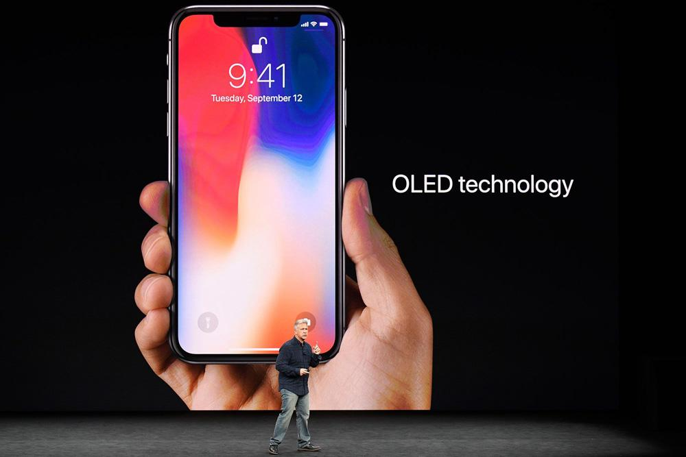 iPhone X con panel OLED Super Retina Display