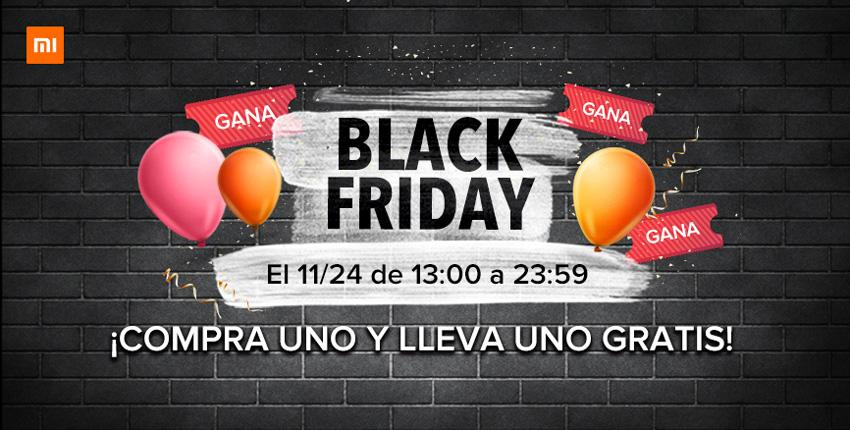 Sorteo durante el Black Friday de Xiaomi