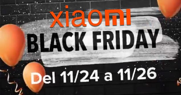 Black Friday de Xiaomi