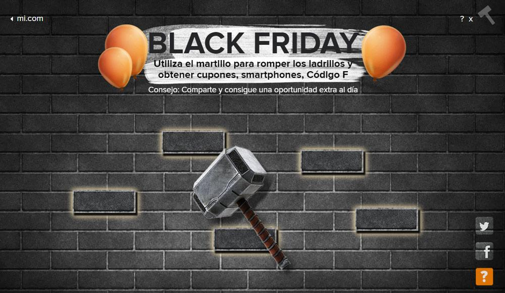 F-codes para el Black Friday de Xiaomi
