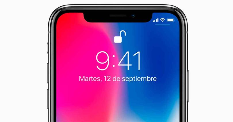 Face ID del iPhone X
