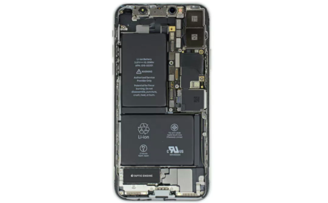 ifixit descubre una bater a doble en el interior del iphone x