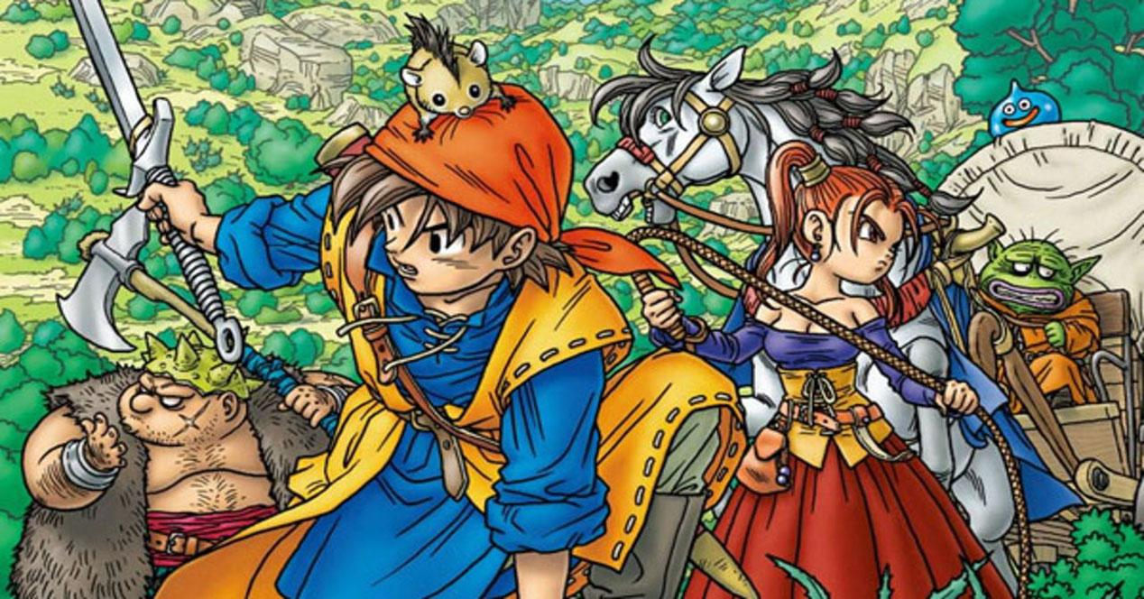 Portada de DragonQuest VIII
