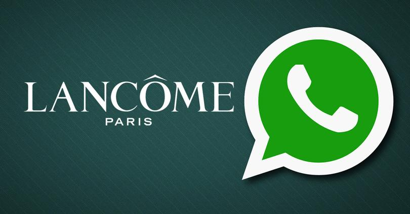 lancome whatsapp