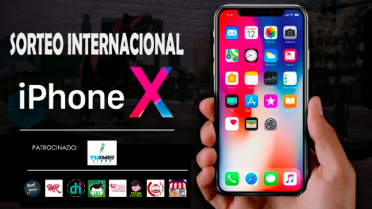 sorteo iphone x