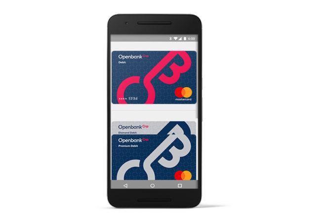App Android Pay con cuenta Openbank