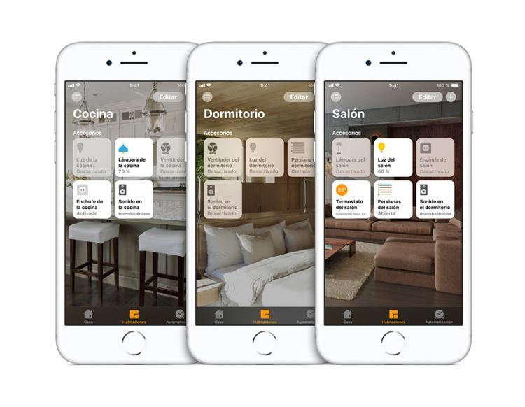 Applicación Casa para Apple HomeKit