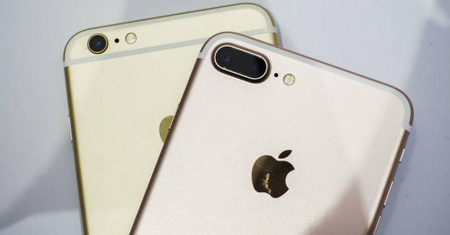 Cámaras iPhone 6s Plus y iPhone 7 Plus