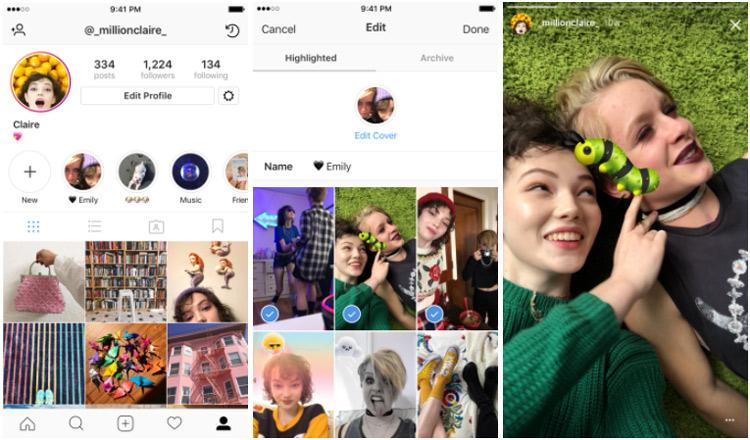 Historias destacadas para Instagram Stories