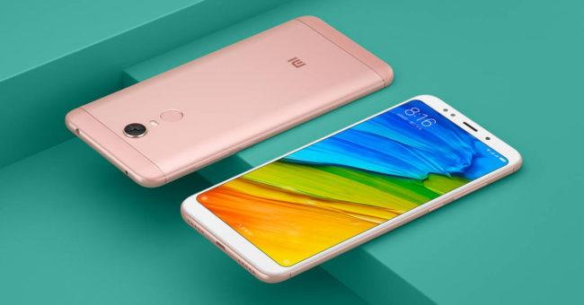 Xiaomi Redmi 5 Plus colores