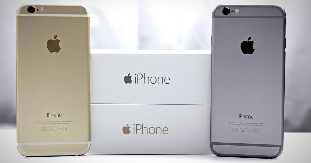 iPhone 6 de distintos colores