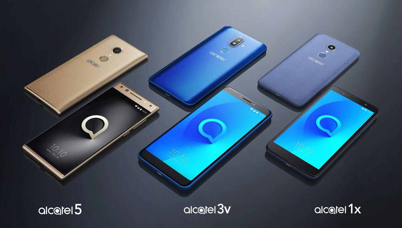 Alcatel V5, Alcate 3 y Alcatel 1x