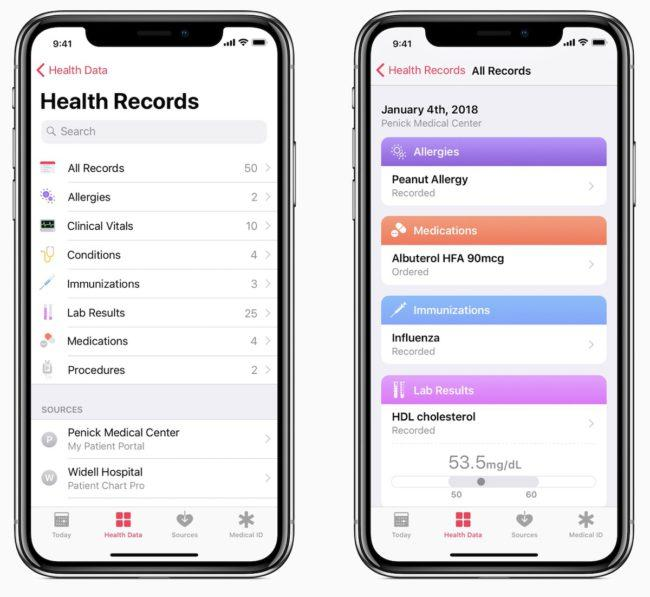 app health iphone