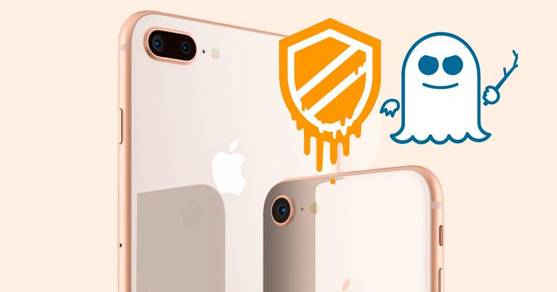 iPhone 8 Meltdown Spectre