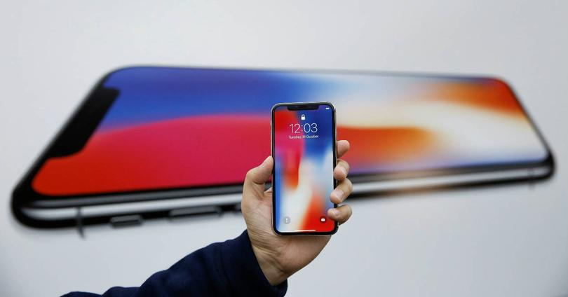 Frontal del iPhone X