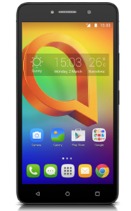 Frontal del Alcatel A2 XL