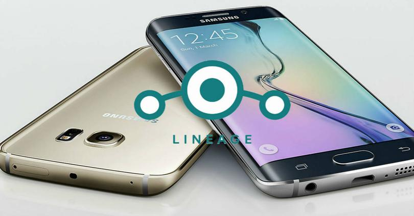 Galaxy s6 edge LineageOS