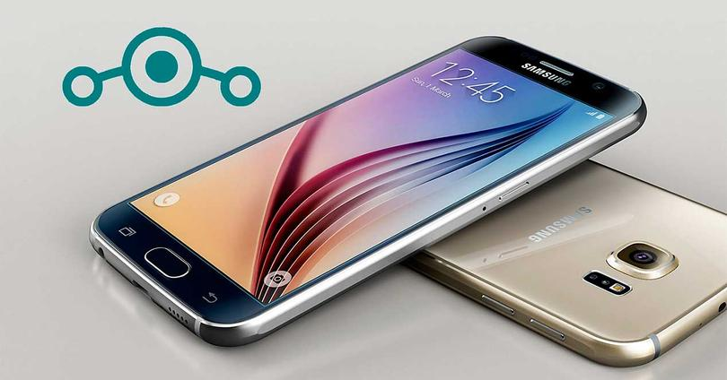LineageOS 14.1 Galaxy S6