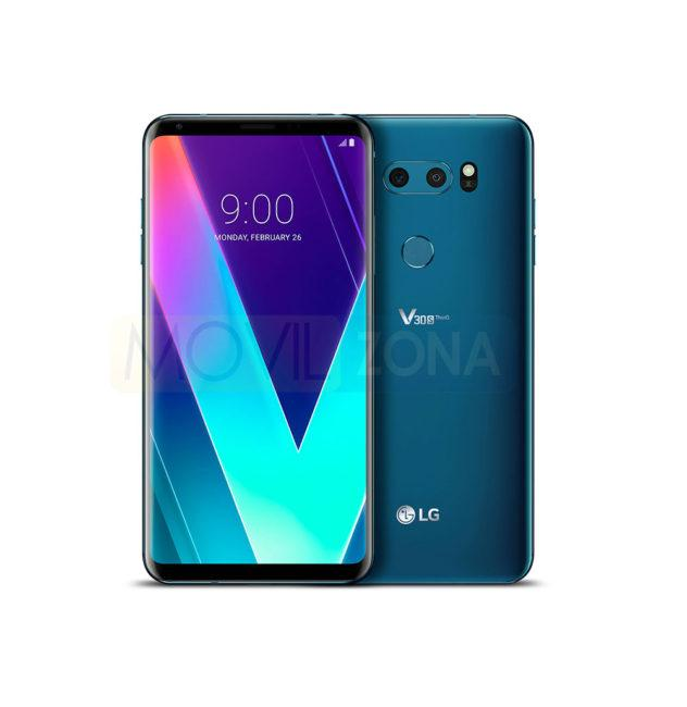 LG V30S ThinQ en color verde