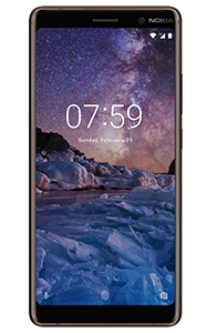 Frontal del Nokia 7 Plus