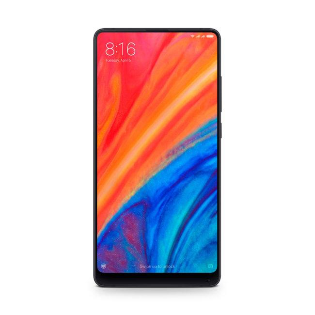 Xiaomi Mi MIX 2S vista frontal
