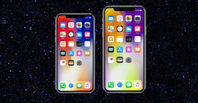 Pantalla del iPhone X Plus