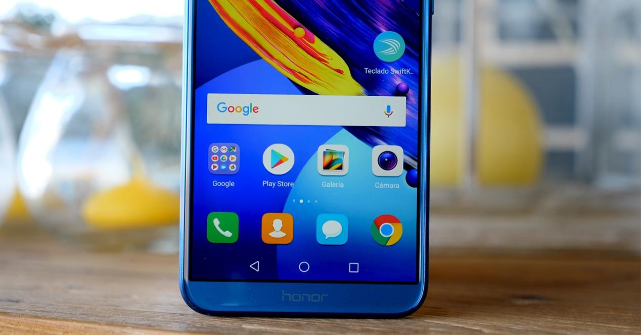 Honor 9 Lite de color azul